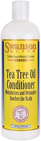 Swanson Tea Tree Oil Conditioner 16 fl Ounce (1 pt) (473 ml) Liquid