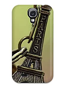 JessicaBMcrae Snap On Hard Case Cover Paris Souvenir Keychain Protector For Galaxy S4