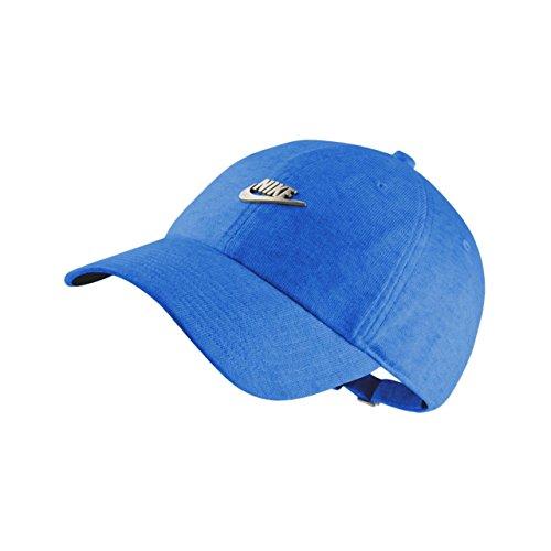 Galleon - NIKE Mens U NSW H86 Cap Metal Futura 891287-465 - Blue  Nebula Black Matte Silver 78753a7f8ad3