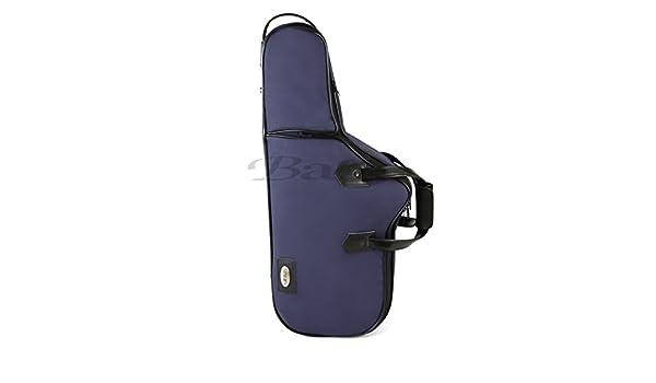 Amazon.com: ESTUCHE SAXOFON ALTO - Bags (30406) Confort con Forma (Mochilla, Bolsillo y Bandolera) Azul: Musical Instruments