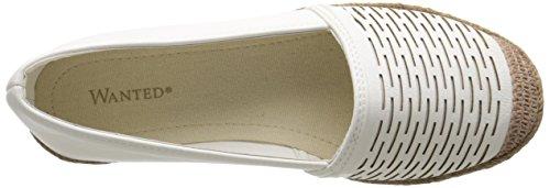 Ballet White Shoes Flat Linea Wanted Women's wtXX7