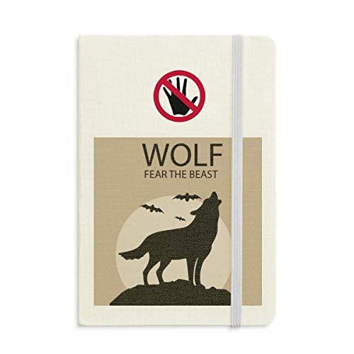 Wolf Ghost Fear Halloween Pumpkin Secret Notebook Classic Journal Diary A5 -