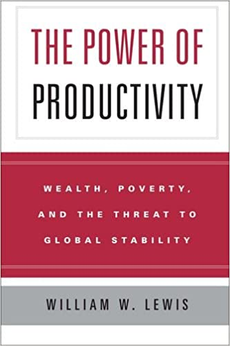 Poverty Wealth The Power of Productivity and the Threat to Global Stability