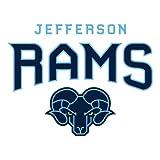 Philadelphia Large Decal 'Jefferson Rams'
