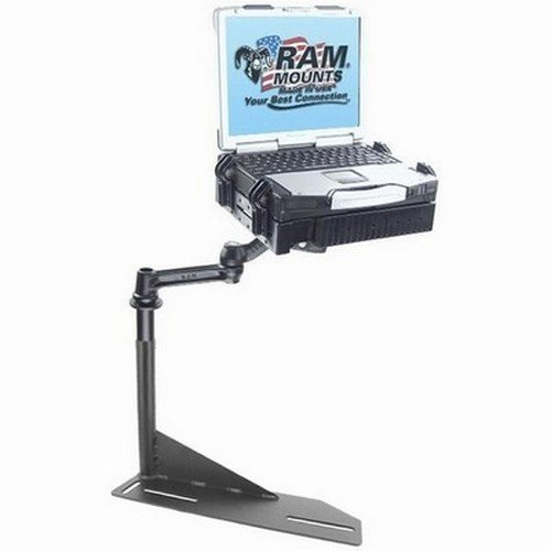 No-Drill(TM) Laptop Mount for the Chevrolet Camaro, Caprice, Ford Crown Victoria Police Interceptor & Lincoln Town Car by RAM MOUNTS (Image #1)