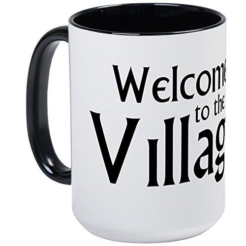 (CafePress Large Villager Mug Coffee Mug, Large 15 oz. White Coffee Cup)