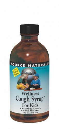(Source Naturals Wellness Cough Syrup for Kids, 8 Ounce)