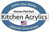 The Original Patented Kitchen iPad Rack / Holder