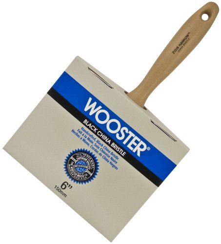 Wooster Brush Z1519-6 Hankow Block Paintbrush, 6-Inch