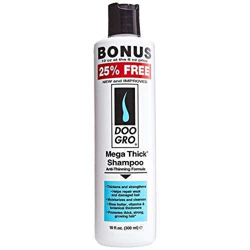 DOO GRO Mega Thick Growth Shampoo, 10 oz Pack of 12
