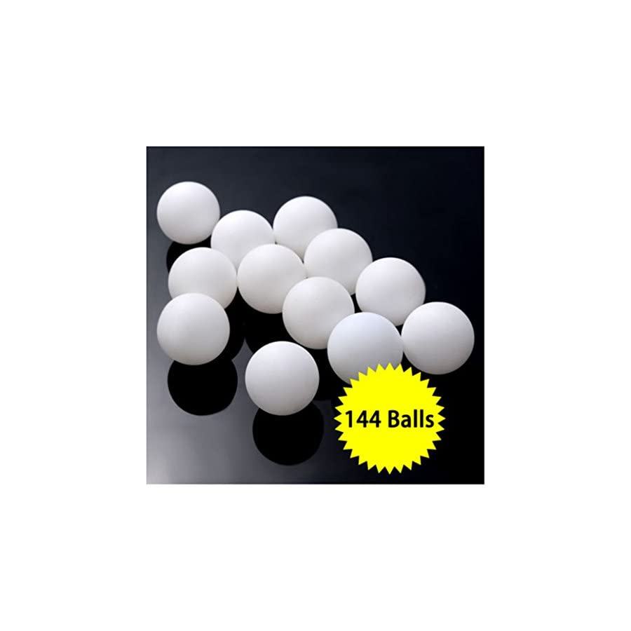Practice Ping Pong Balls,Pack of 144 Balls,Table Tennis Bee Ball Cainval Game