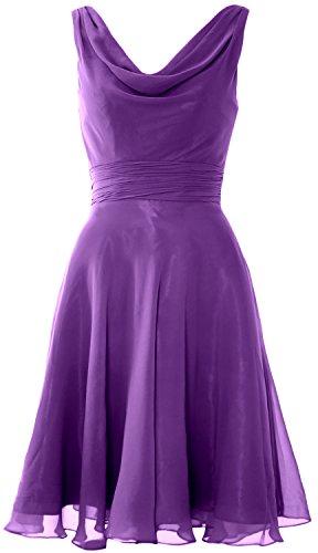 Cocktail Party Macloth Wedding Gown Regency Neck Bridesmaid Women Cowl Dress Short wON0mv8n