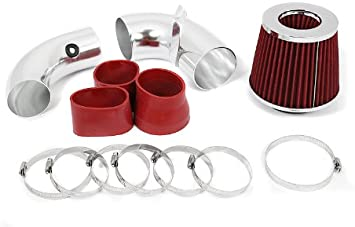 96-05 CHEVY S10 PICKUP BLAZER GMC SONOMA JIMMY 4.3L V6 AIR INTAKE KIT Red Blue