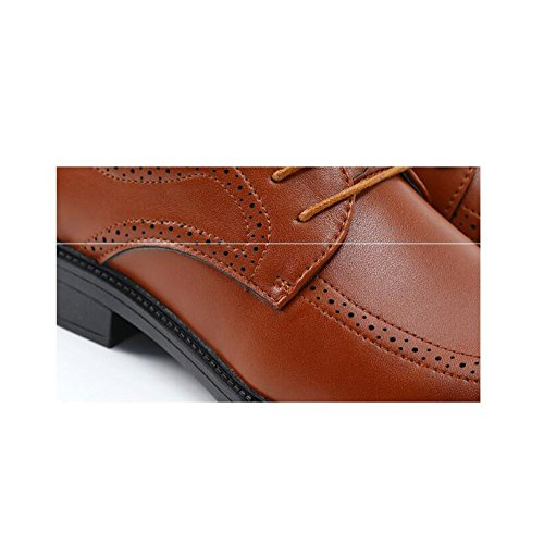 Scarpe Da Moda Da Da Uomo Autunno brown In Uomo Casual Nuova Pizzo D'affari Uomo Abito Scarpe Primavera Di YXLONG E aqx8Bf7w