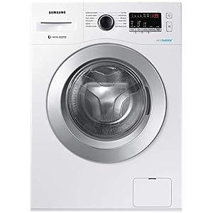 Samsung 6.5 Kg Inverter 5 star Fully-Automatic Front Loading Washing Machine (WW66R22EKSW/TL, White, Hygiene steam)
