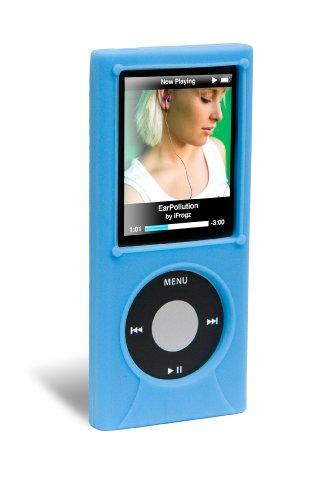 (iFrogz iPod Nano 4G Wrapz Silicone Case (Blue))