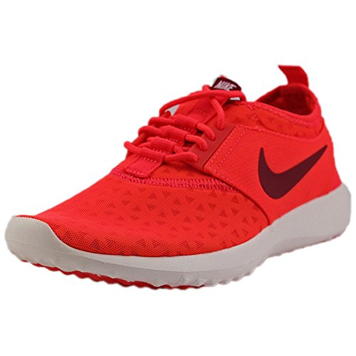 NIKE Women's Juvenate Sneaker, Bright Crimson/Noble Red Sail, 8.5 B US