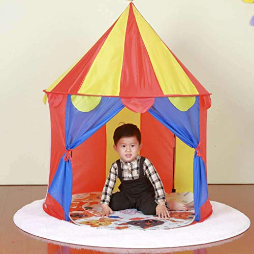 D DOLITY Fácil De Desplegar Kids Playhouse Ball Pit Tent Niños Playhouse Juego Juguetes 100x100x135cm