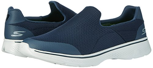 Image of the Skechers Performance Men's Go Walk 4 Incredible Walking Shoe, Navy/Gray, 8.5 M US