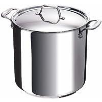 Bekaline 12063284 - Chef - Cacerola con tapa (de acero inoxidable, apta para cocinas de inducción, 28 cm)