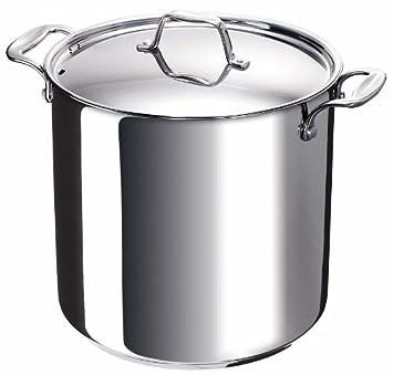 Bekaline 12063284 - Chef - Cacerola con Tapa (de Acero ...