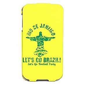 GOG- World Cup Let go Brazil Pattern Plastic Full Body Cases for Samsung Galaxy S5 I9600