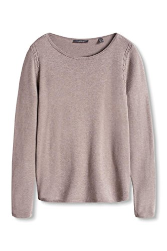 244 Collection Femme 5 ESPRIT Pull Marron Taupe wqTp00UxY