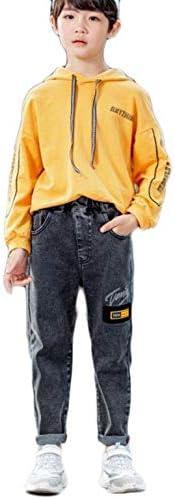 男の子 春秋 カジュアル ジーンズ 子供服 デニムパンツ ズボン ボーイズ ロングパンツ 刺绣