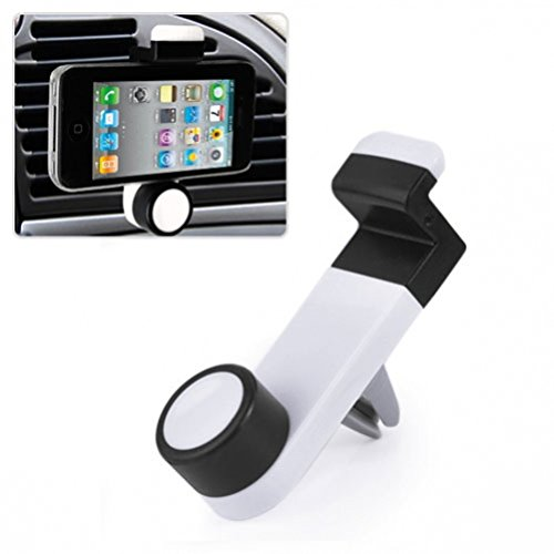Car AC Air Vent Mount Compact Holder Phone Cradle for T-Mobile Sony Xperia Z3 - T-Mobile Sony Ericsson Xperia Z - T-Mobile ZTE ZMax - US Cellular Alcatel OneTouch Shockwave (Case Sony Ericsson Phone)