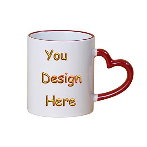 Custom Coffee Mug Birthday Christmas Gift-Personalized DIY Print Hot Heat Sensitive Cup Ceramic Mug, Family Mug-Add Your Photo&Text for $<!--$9.99-->