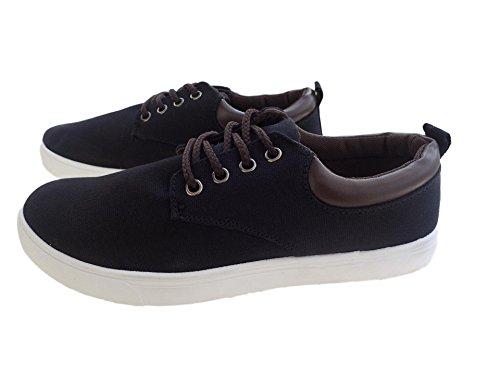 丁寧繁栄マオリ(TERA Dream) メンズ カジュアル スニーカー 靴ひも デッキシューズ キャンバス生地 黒 灰 青 紐シューズ シューズ 靴 紐 履きやすいシューズ レースアップ