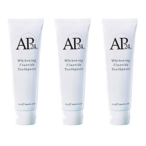 - Nu Skin SvABNg Ap 24 Whitening Fluoride Toothpaste, 4 oz, 3 Pack