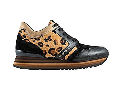 Apepazza , Damen Sneaker schwarz schwarz