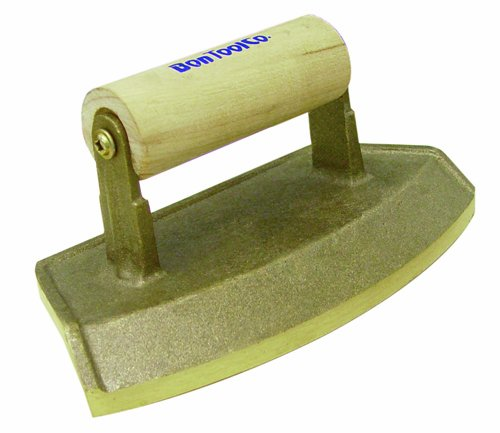 Bon 12-800 Bronze Radius Chamfer Tool with a 12-Inch Pier Diameter and Wood Handle by BON