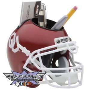 Oklahoma Sooners Mini Helmet Desk Caddy (Quantity of 1)