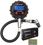 Best Digital Tire Pressure Gauges - DIYCO Professional Digital Tire Pressure Gauge, Large Lcd Review