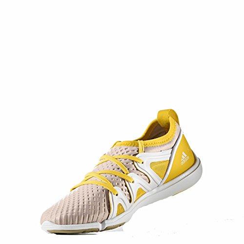 adidas womens Adidas Stella Mccartney Women's Crazy Move Pro Pearl Rose/Super Yellow S80843 QIn6r