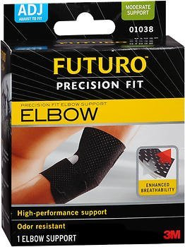 (Futuro Precision Fit Elbow Support Adjust to Fit - Each, Pack of 2)