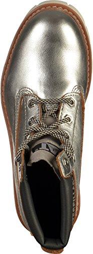 Caterpillar - botines de caño bajo Mujer plata