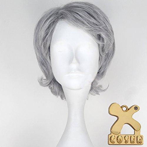 Xcoser Satr Cosplay Wars Film Force Awakens Han Solo Costume Wig