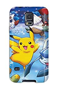AnnieEdnaPeel Galaxy S5 Well-designed Hard Case Cover Pokemon Protector