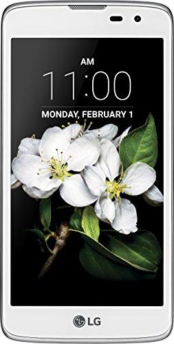 LG K7 Smartphone (12,7 cm (5 Zoll) Touch-Display, 8 GB interner Speicher, Android 5.1) weiß