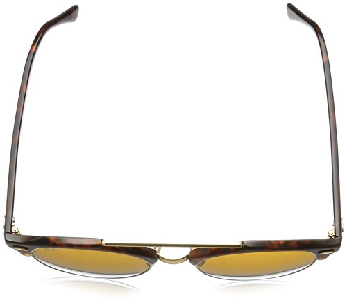 Red Sonnenbrille Double Havana 4346 Bridge Ban Clubround Shiny Ray RB gRnw7gx