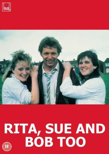 DVD cover of the movie Rita, Sue, And Bob Too