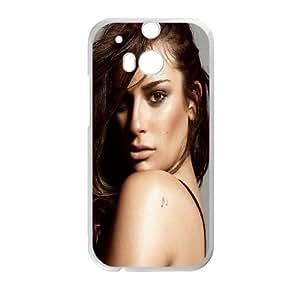 HTC One M8 Cell Phone Case White Lea Michele ISU221310