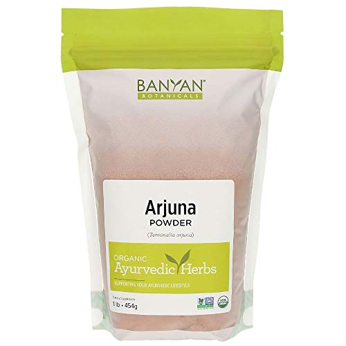Banyan Botanicals Arjuna Powder – USDA Certified Organic – Terminalia arjuna – Ayurvedic Bark Powder for a Healthy Heart…