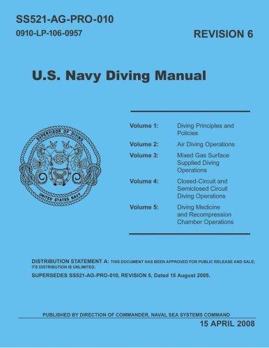 United States Navy Diving Manual, Revision (Us Navy Diving Manual)