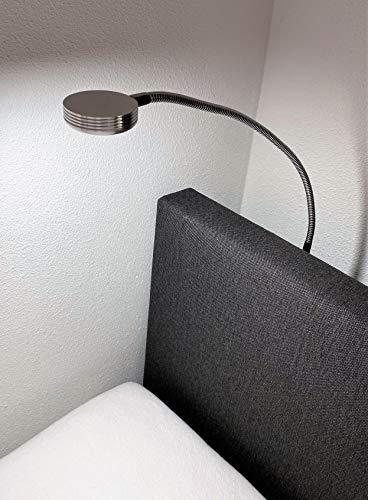 Olympic Life® boxspring leeslampje voor boek/bedlampje voor slaapkamer   montage aan hoofdbord   aluminium (prijs is per…