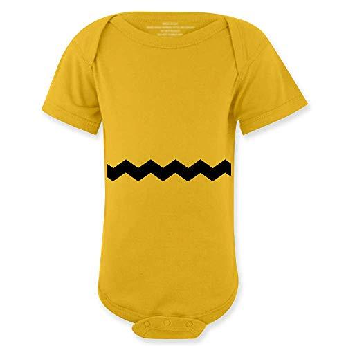 My Frog Store Charlie Halloween Cute Brown Costume Kids Baby Yellow Baby Bodysuit
