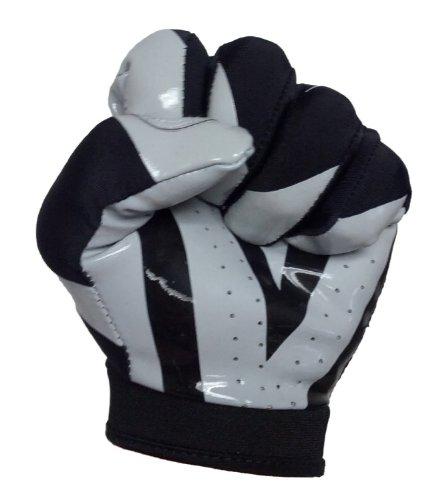 barnett Football Receiver Gloves, FRG-03 (Youth Large, Black)